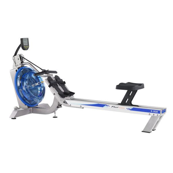 E316 Evolution Commercial Series Fluid Rower (Adjustable Resistance)