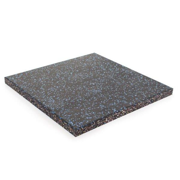 30mm Floor Tile 500mm x 500mm (x1) - Black with Blue Speckle