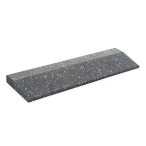 30mm Floor Tile Ramp Edge x1 (500mm length) - Black with Blue Speckle