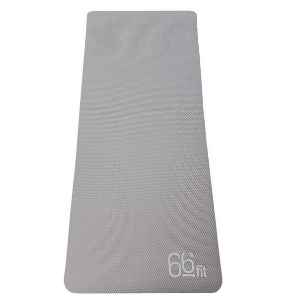 66fit 66fit NBR Exercise Mat Graphite Grey - 185cm x 80cm x 1cm