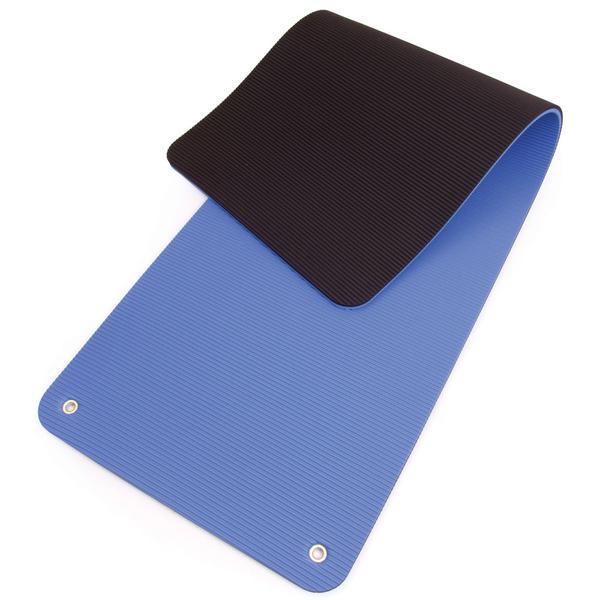 66fit 66fit Professional Exercise Mat - 17mm x 60cm x 180cm - Blue/Black