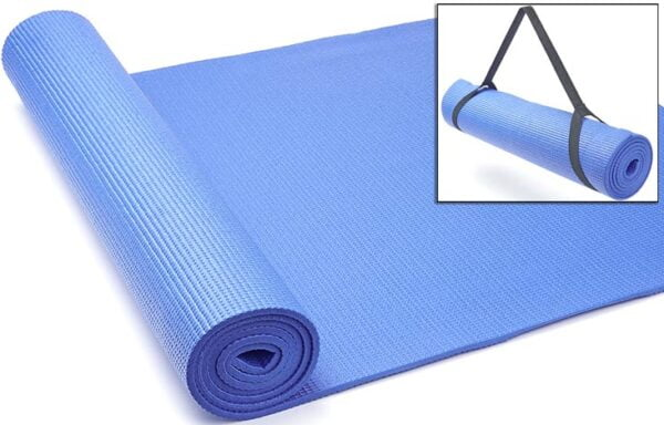 JTX 6mm Yoga Mat With Carry Strap