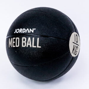 10kg Medicine Ball - Black/Grey