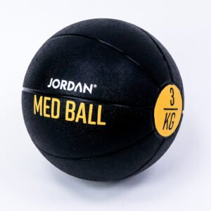 3kg Medicine Ball - Black/Yellow