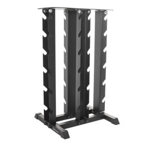 4 Tier Vertical Dumbbell Rack