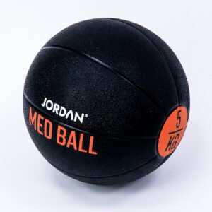 5kg Medicine Ball - Black/Orange