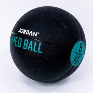 8kg Medicine Ball - Black/Green
