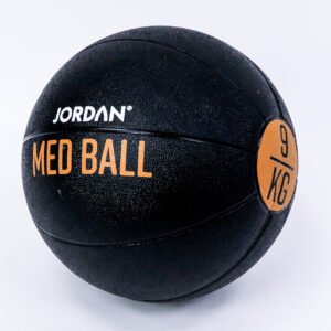 9kg Medicine Ball - Black/Amber