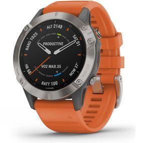 Fenix 6 Sapphire Titanium Multisport GPS Watch