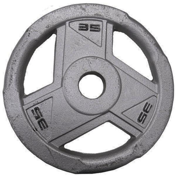 Ironman Olympic Grey Hammerton Tri-Grip Plates 2x 35lb