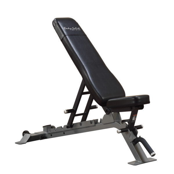 Pro Club Line Full Commercial Flat/Incline/Decline Utility Bench