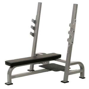 'STS Range' Olympic Flat Bench Press with Gun Rack