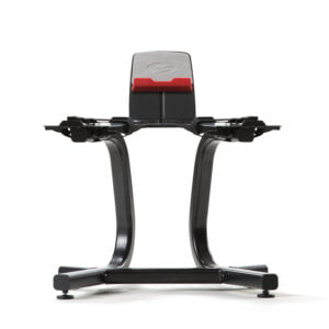 SelectTech Dumbbell Stand with Media Rack