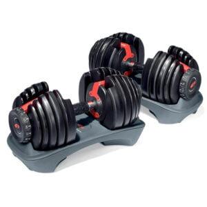 2-24 Kg SelectTech Dumbbells (Pair)