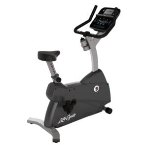 C1 Upright Cycle with Track Connect Console